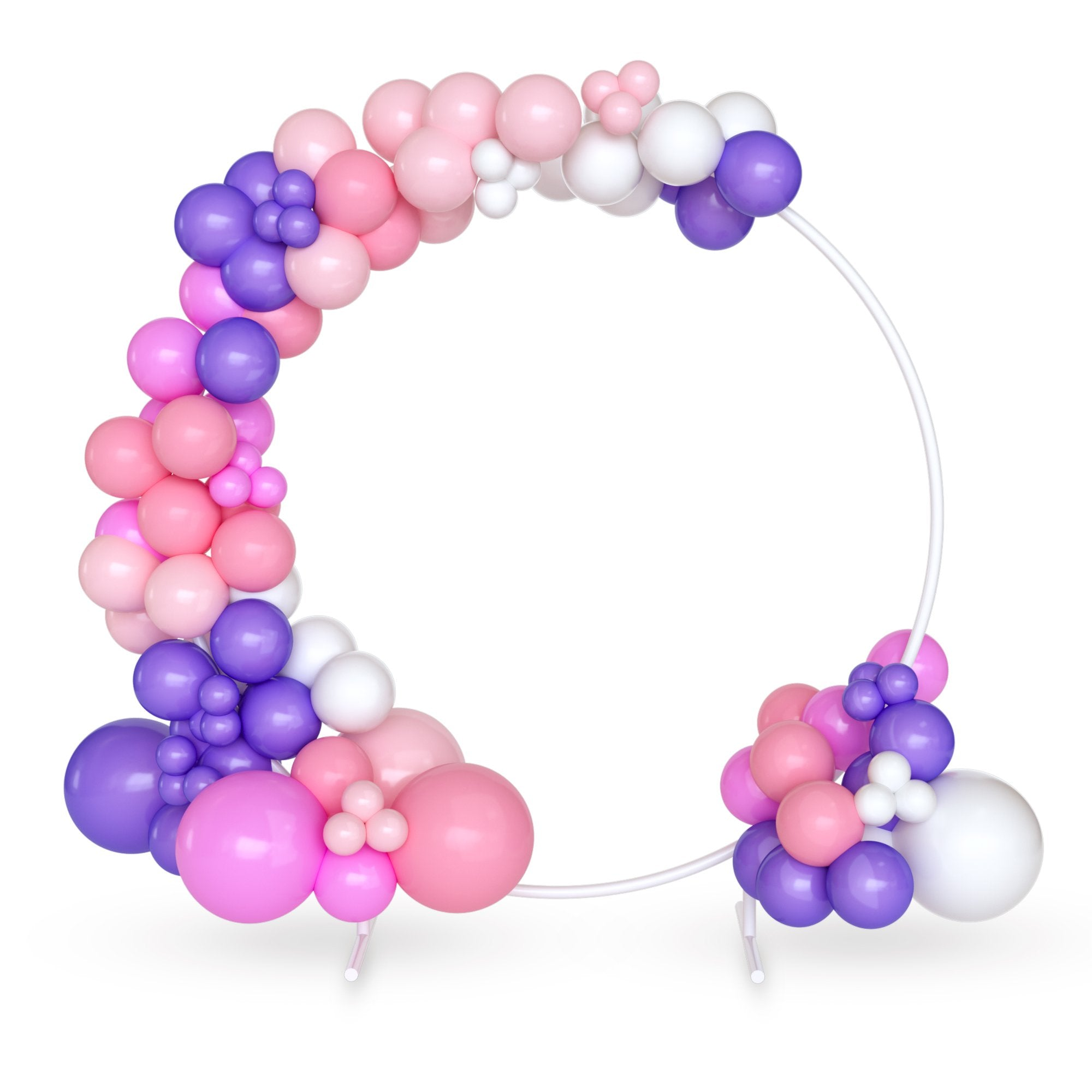 DIY 16 ft Balloon Arch Garland Kit | Pink & Purple | 120 Balloons | Birthday Parties, Baby Showers, Gender Reveals | TUR Party Supplies