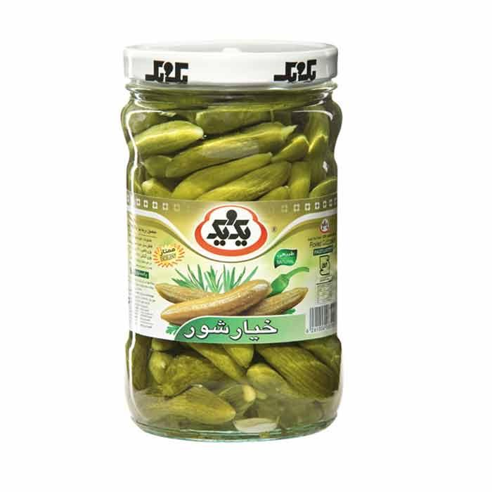 Persian Supermarket London, Online Store UK, Persian Shop UK, Persian Food, Online Supermarket, Pickled Cucumber خيارشور يك و يك