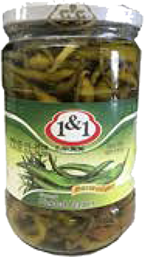 1&1 Pepper Pickled-700gr