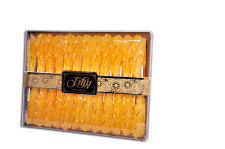 Rock Candy Saffron with Stick -350gr (نبات دسته دار)