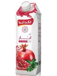 Pomegranate Juice 1 lit آب انار⁩ تکدانه