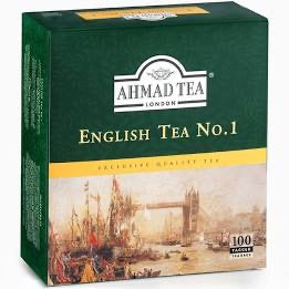 Ahmad English Tea Bag No. 1