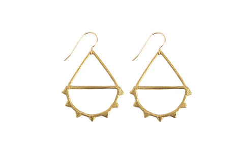 Old West Earring, gold
