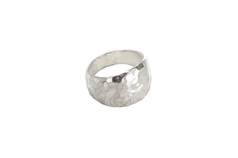 Ancient Rock Ring, silver