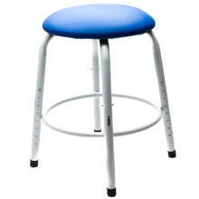 Shimpo Potter's Stool - Cushioned Top and Adjustable Legs