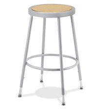 Potters Stool - Metal with Adjustable Leg Height from 18 in to 27 in