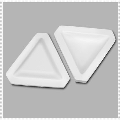 Mayco Slump n' Hump Mold Triangle - 1 in H x 5 in W