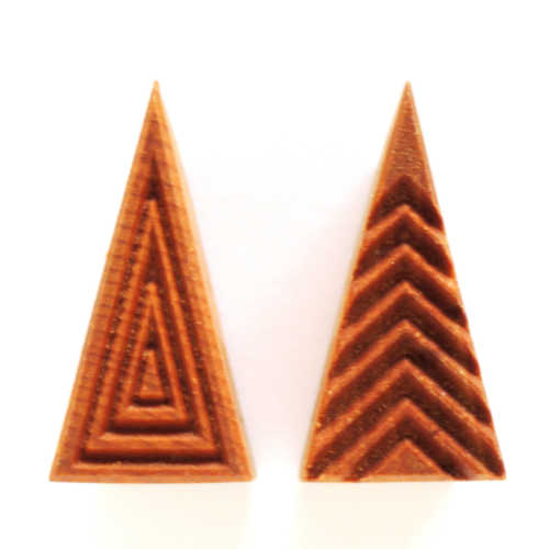 Medium Tall Triangle Stamp