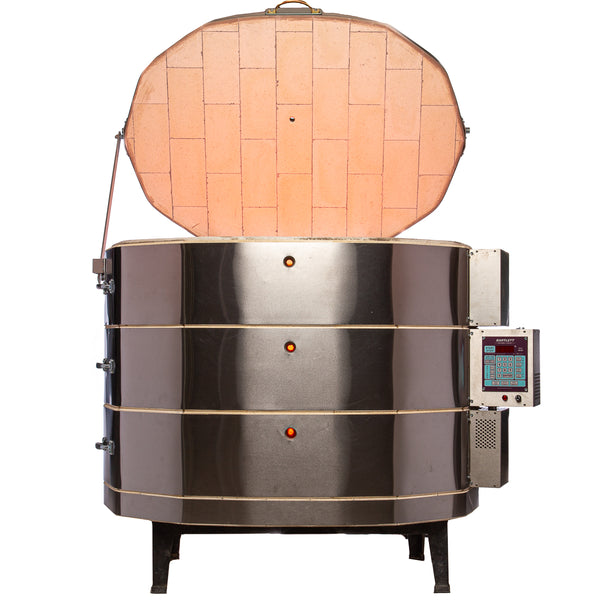 25 Inch Oval Top-Loading Kilns