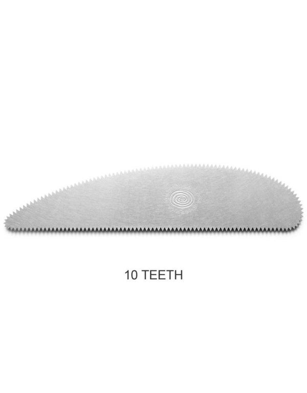 10 Teeth per inch Extra Long Stainless Steel Rib SSXL10