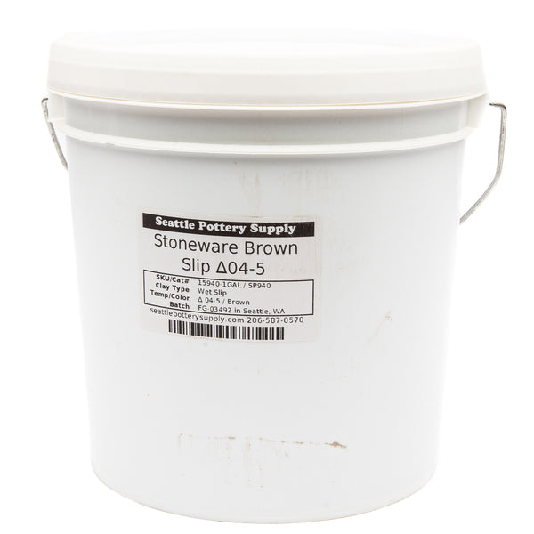SP940 Stoneware Brown Slip - One Gallon
