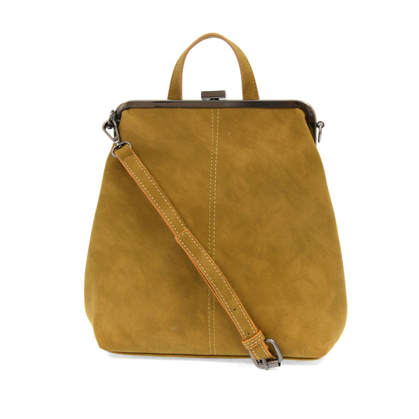 Phyllis Convertible Backpack Mustard