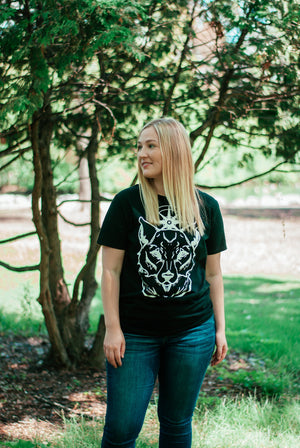 Womens Wolf Star Shirts