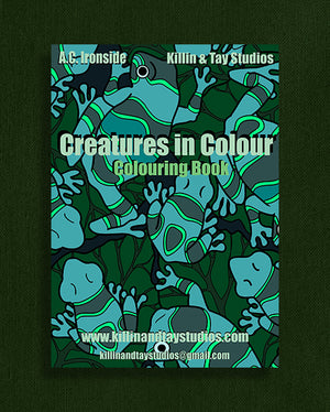 Creatures in Colour: Colouring Book