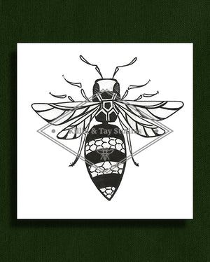 Wasp Graphic Print