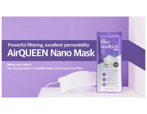 AirQueen Nanofiber Filter Mask