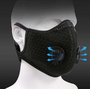 Mesh Fabric Face Mask