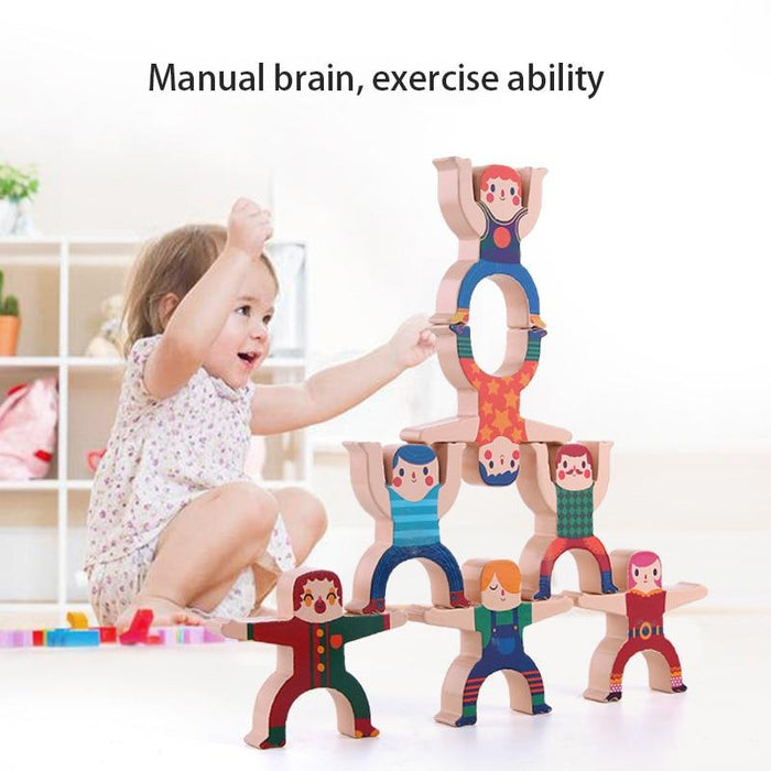 Children's Hercules Stacking Blocks for Early Learning