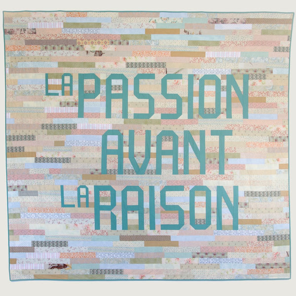 Mark Clintberg Passion Over Reason Strip Quilt