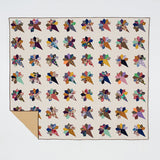 Nosegay-Compass Points Heritage Quilt