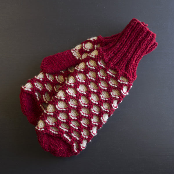 Honeycomb Mittens
