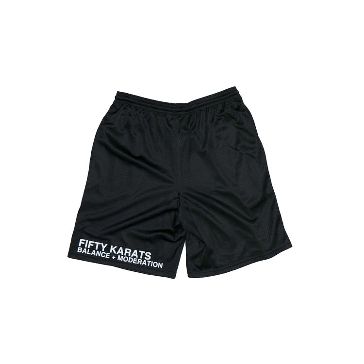 CHAMPION® BBALL SHORTS - BLACK