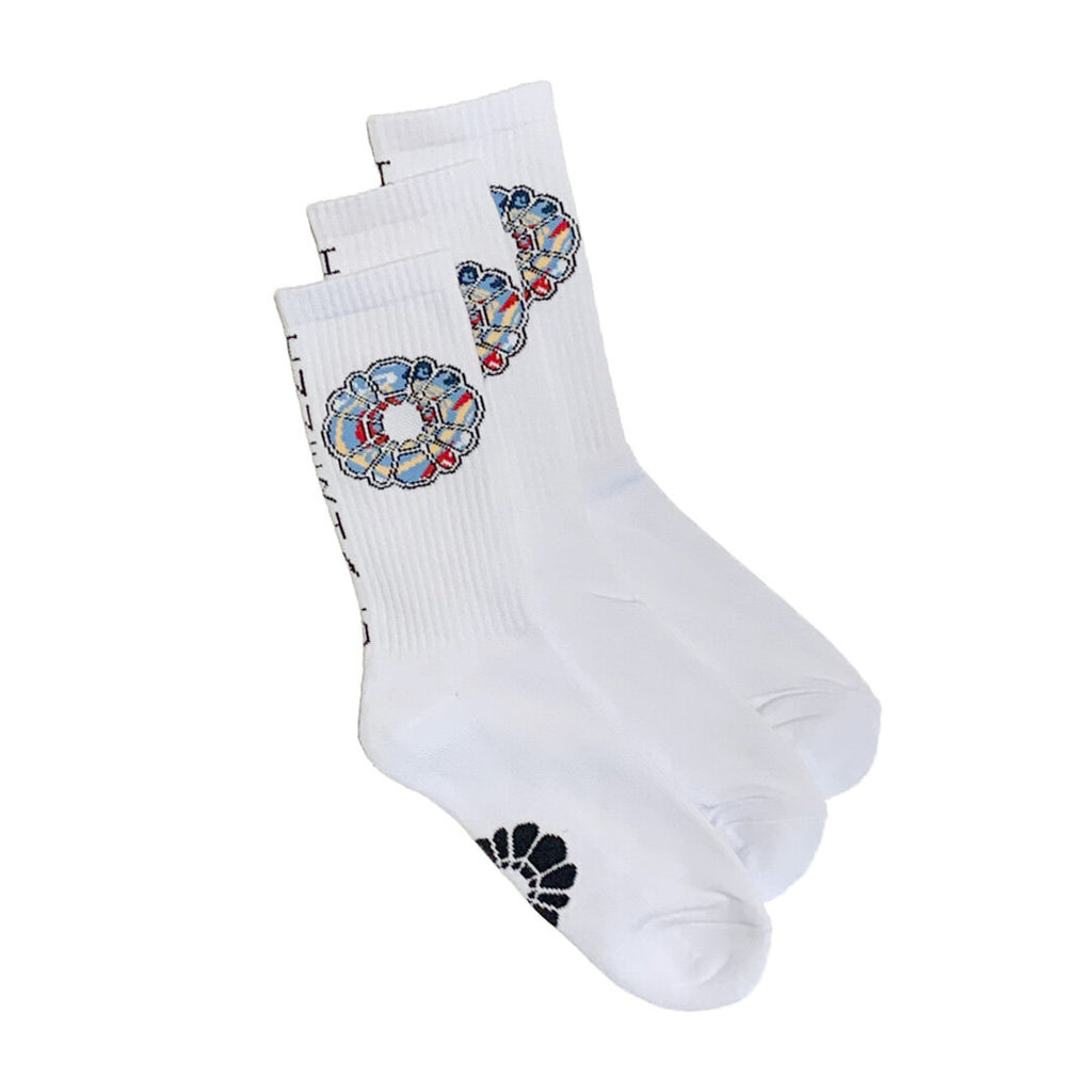 INNER HALO SOCK - WHITE 3PK