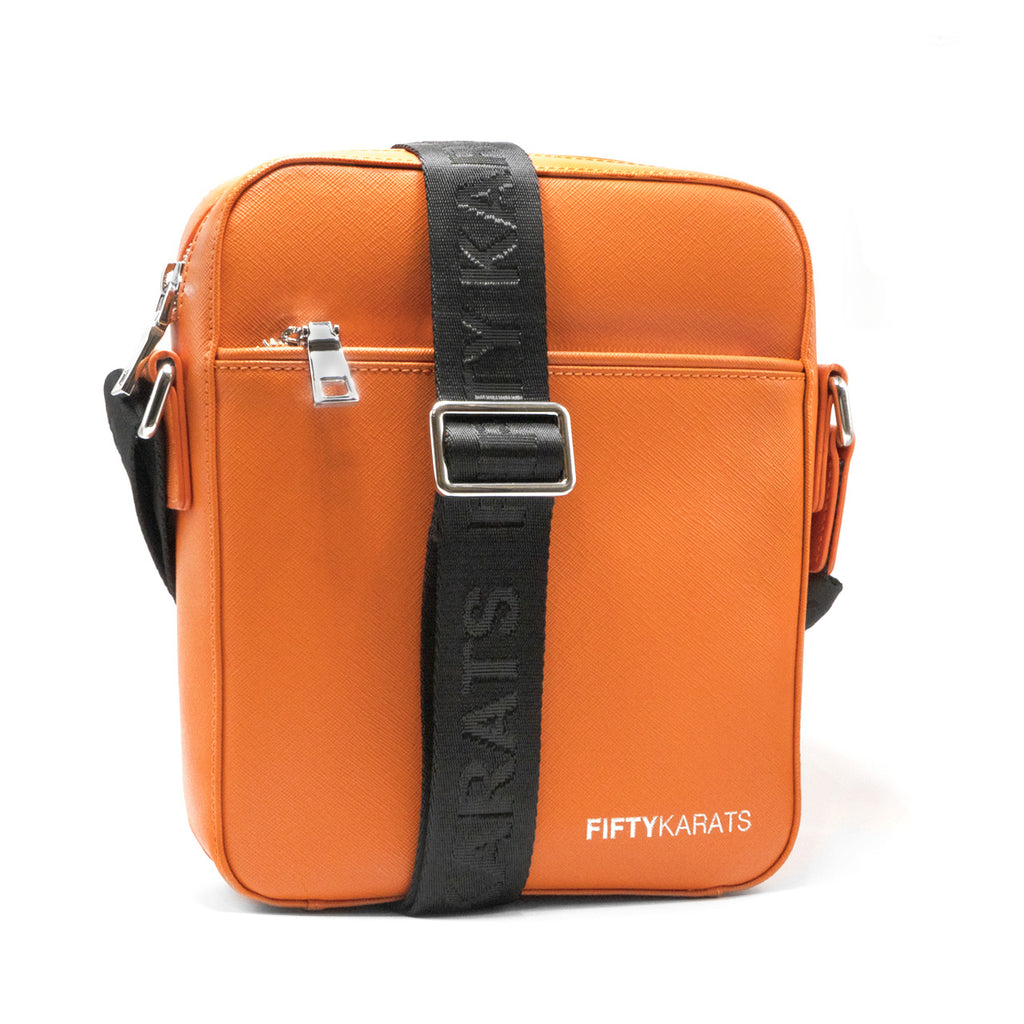 Fifty Karats Regimen Messenger Bag - CC Orange