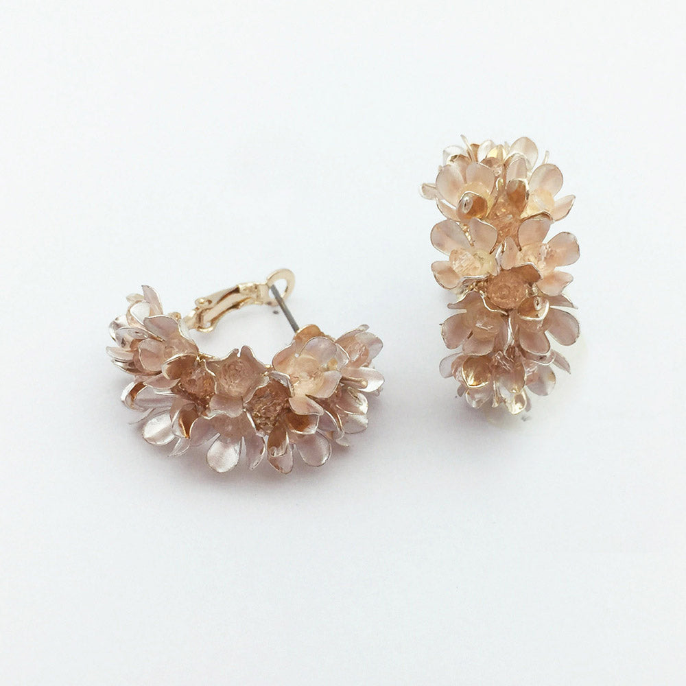 Embellished floral Bridal Earings