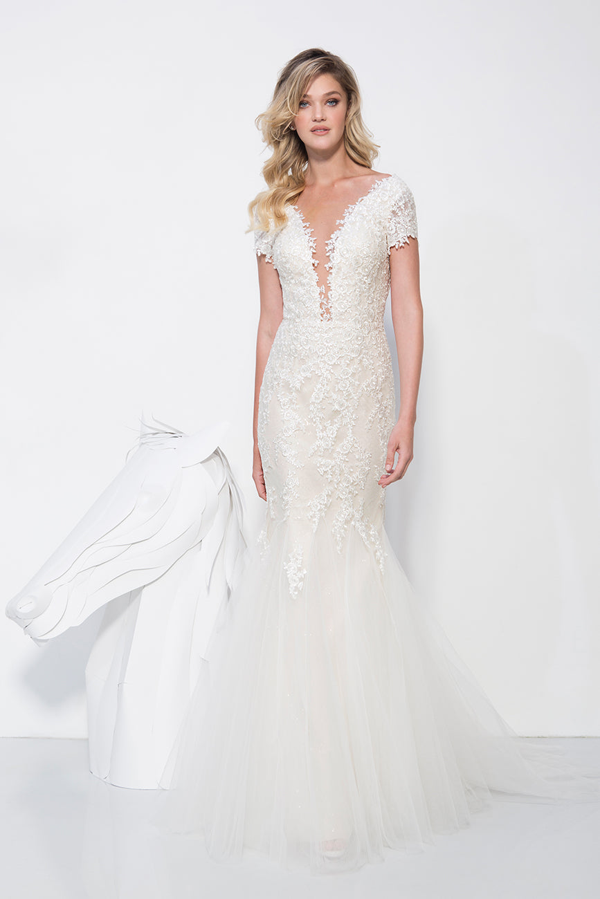 STEPHANIE White Wedding Gown
