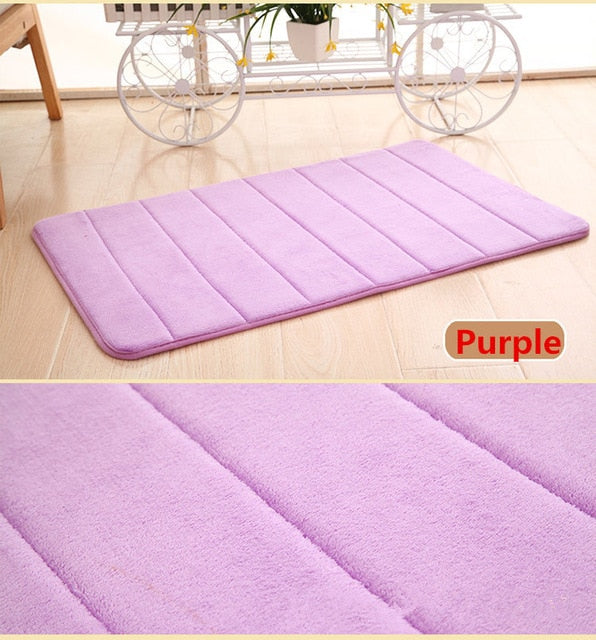 Home Bath Mat Non-slip Bathroom Carpet