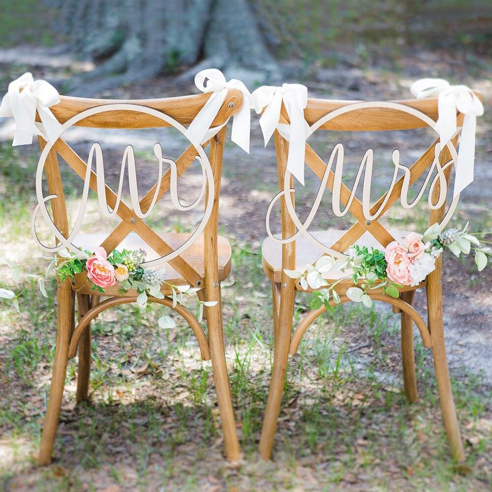 2pcs For Wedding Party Decorations DIY Chair. Includes shipping - Expressions2u
