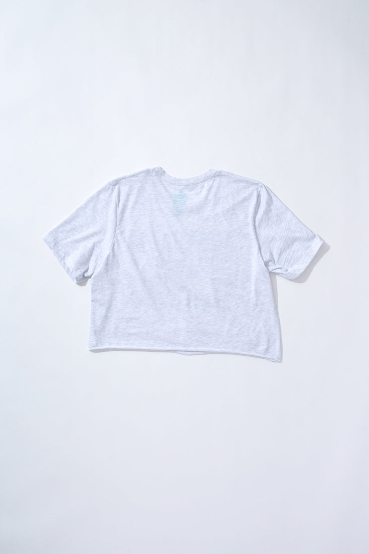 Fresh White Croptee