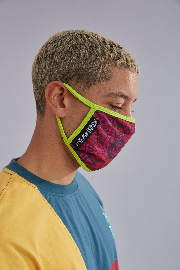 Fresh Prince Face Mask 4-Pack