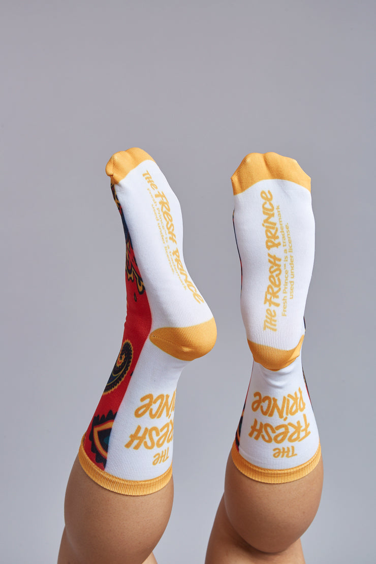 Fresh Prince Jazz Socks, Set of 2