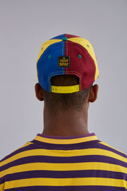 Color Block Snapback Hat