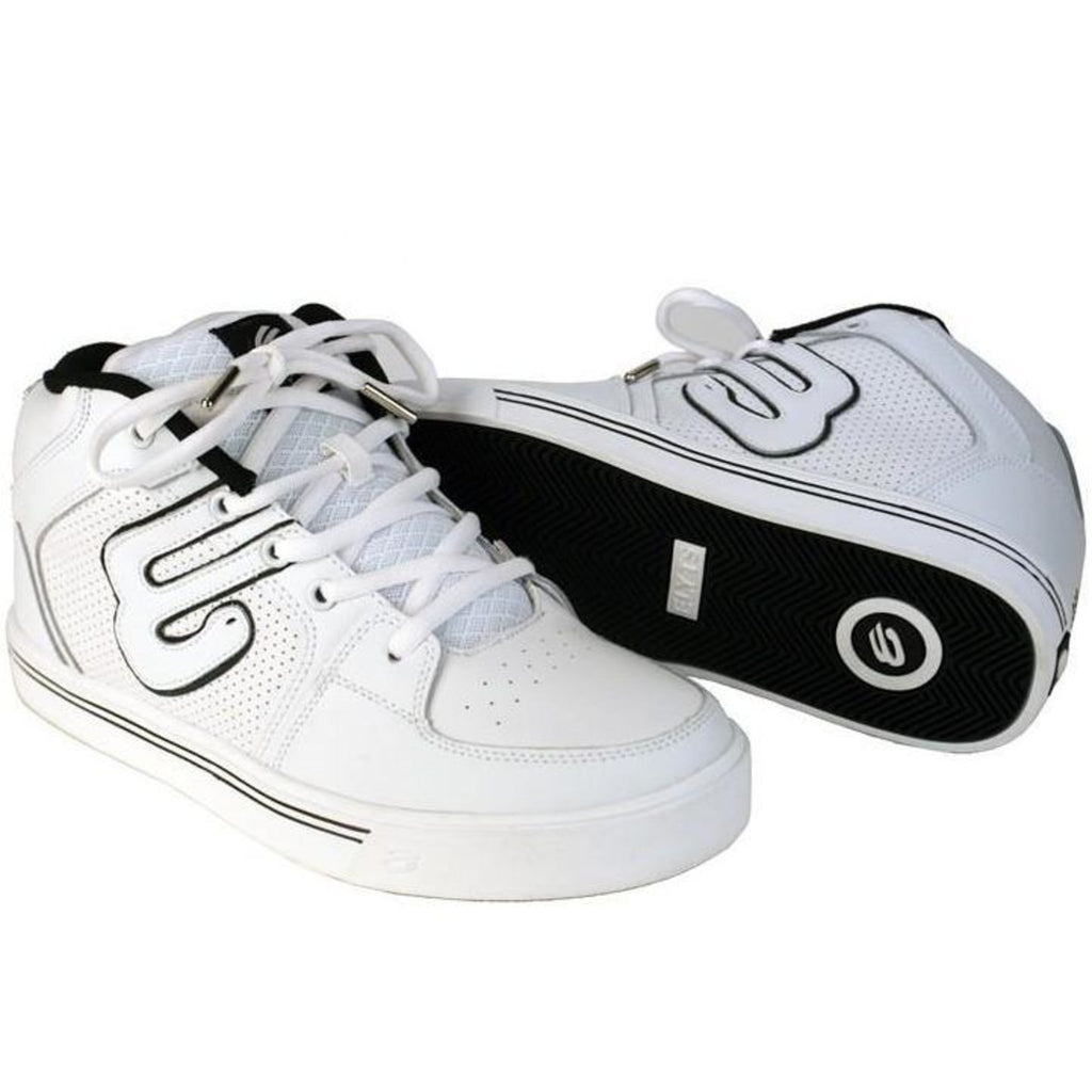 Elyts Mid Top 2 White Action Skate Sko-Hvid-ScootWorld