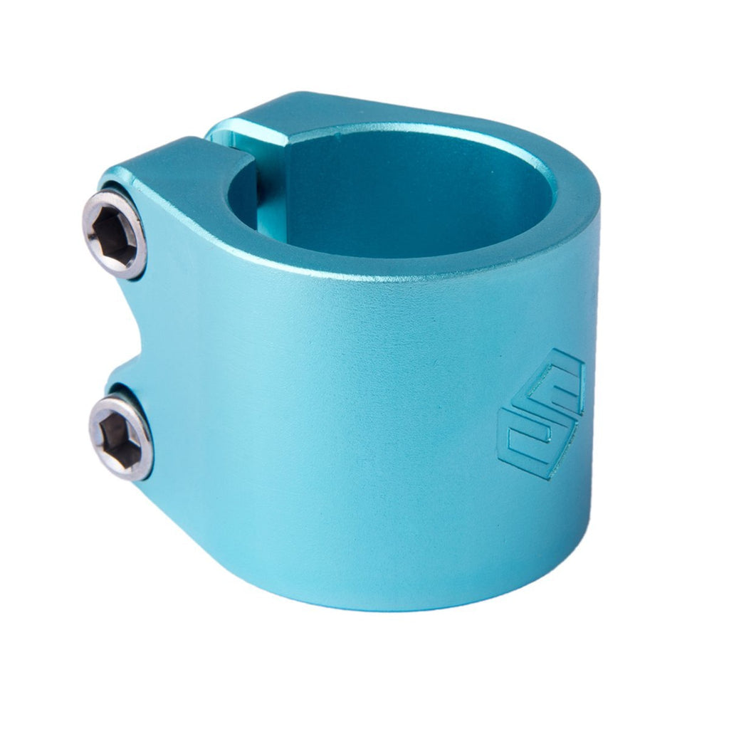 Striker Lux Double Clamp-Teal-ScootWorld