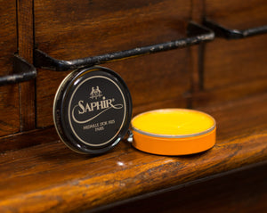 Saphir Médaille d'Or Pate de Luxe Wax Polish (50ml) - Straits Establishment