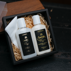 Saphir Leather Care Kit