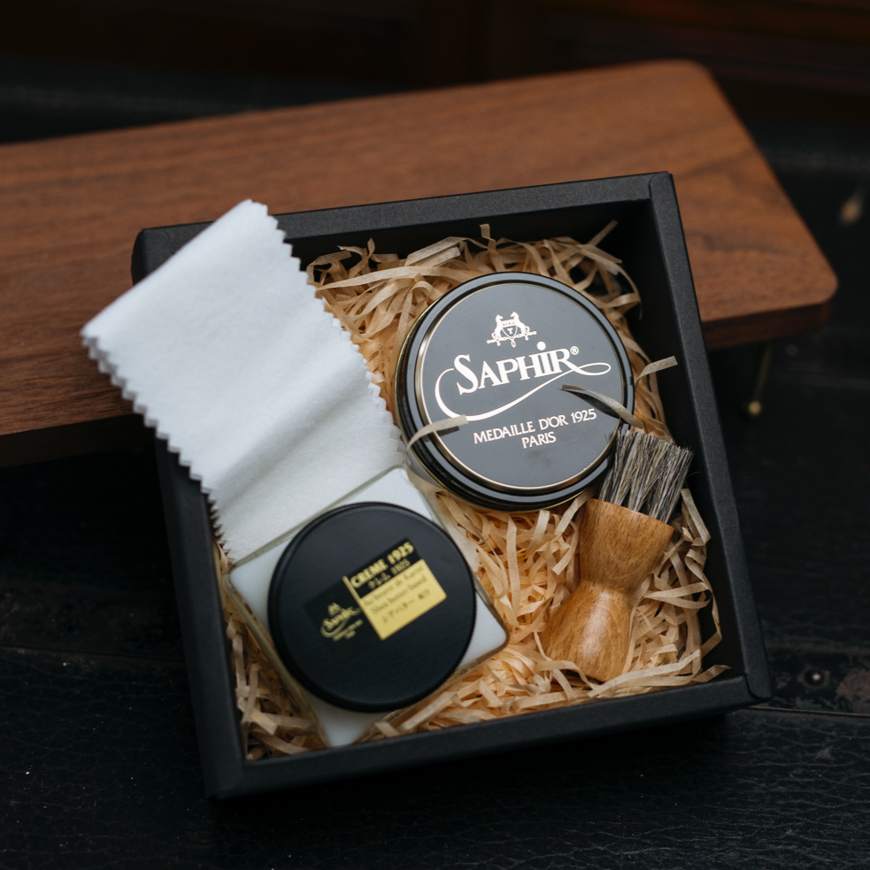 Saphir Basic Shoe Shine Kit