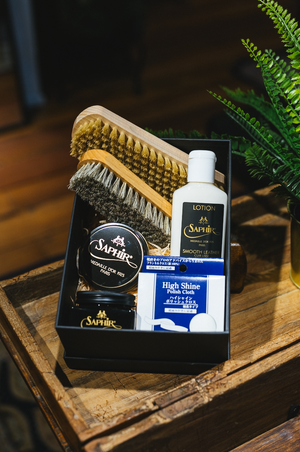 Shoe Shine Kit (Lotion) - Straits Establishment
