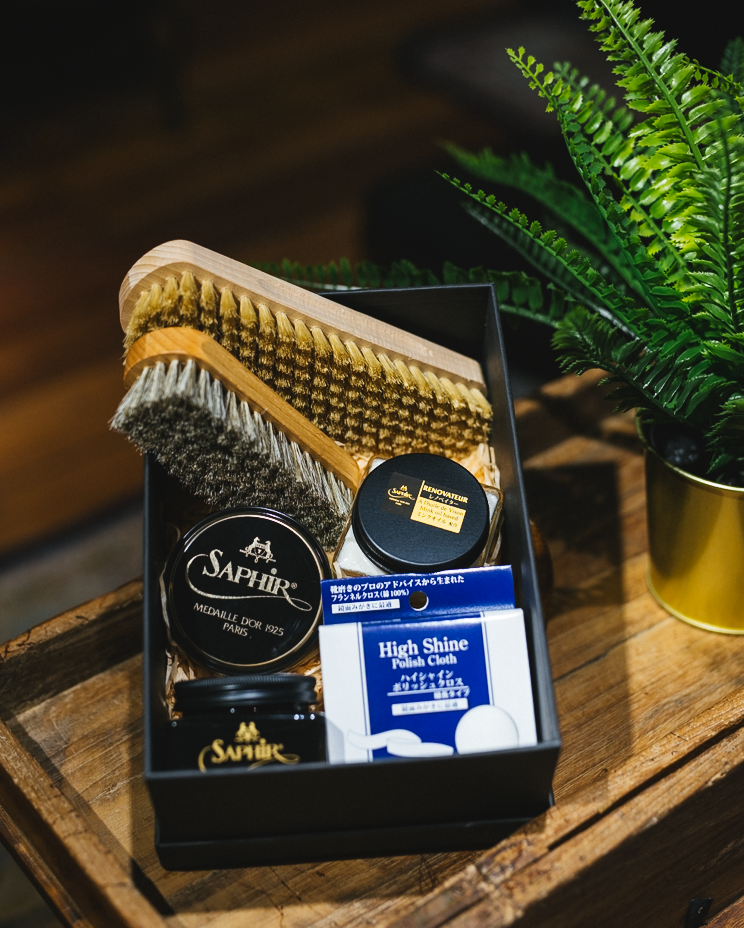 Shoe Shine Kit (Renovateur) - Straits Establishment