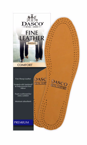 DASCO Leather Insole (Comfort Fit) - Straits Establishment