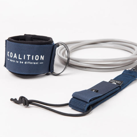Koalition Dbl Swivel Leash Reg 8""