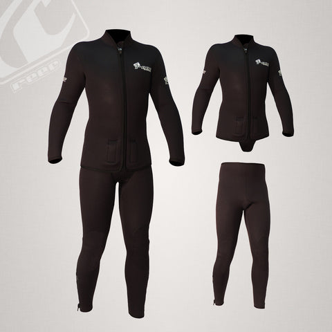 Reef 2pce 5mm Barrier Diving Wetsuit