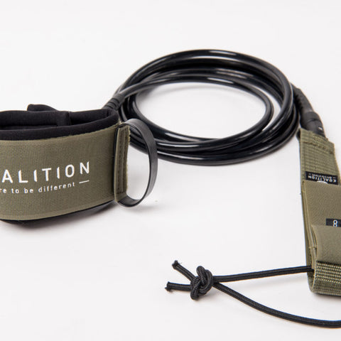 Koalition Double Swivel Leash Reg 8""