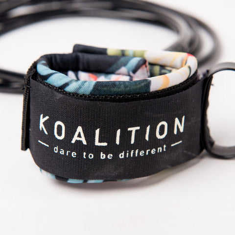 Koalition Dbl Swivel Leash Reg 7""