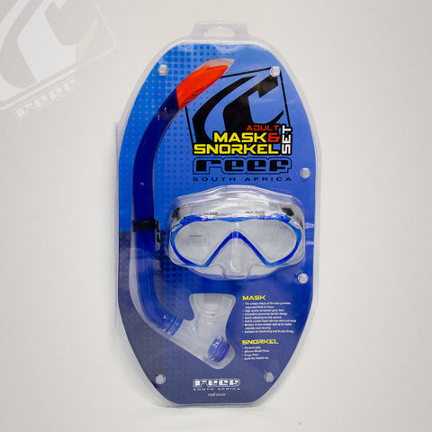 Reef Clear adult mask and snorkel combo