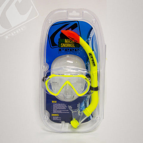 Reef Release Jnr mask and snorkel combo